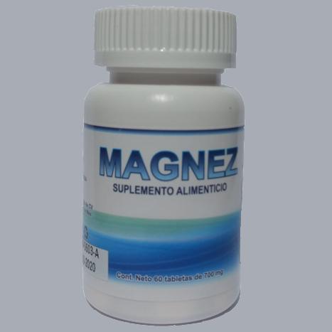 Tabletas de Magnesio